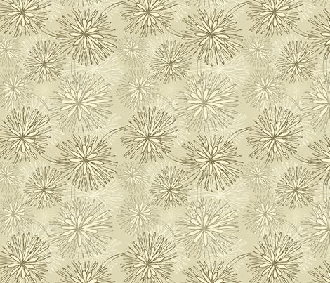 flowers pattern fabric by anastasiia-ku on Spoonflower - custom fabric