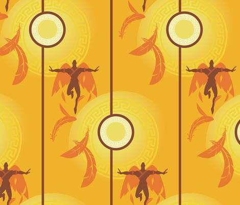 icarus fabric by jwitting on Spoonflower - custom fabric