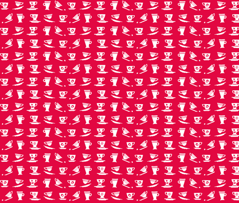 cup & cup fabric by happy_to_see on Spoonflower - custom fabric