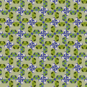 Blue-billed Rooks