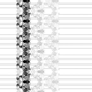 Original Pinstripe Cicada Border