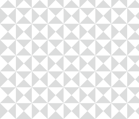 yankee puzzle - gray fabric by gingerme on Spoonflower - custom fabric