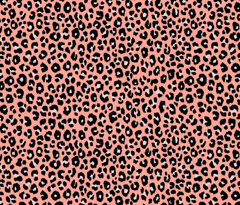 Blush Leopard (Large) fabric by kimsa on Spoonflower - custom fabric
