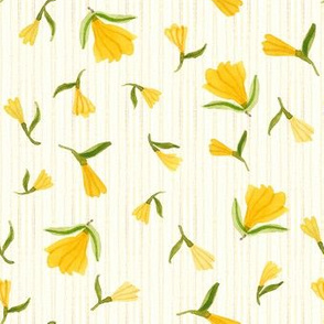 Dainty Blossoms Natural - Frolic Collection