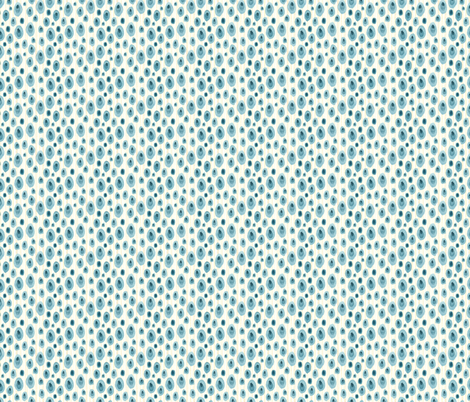 Speckles Natural - Frolic Collection fabric by gollybard on Spoonflower - custom fabric