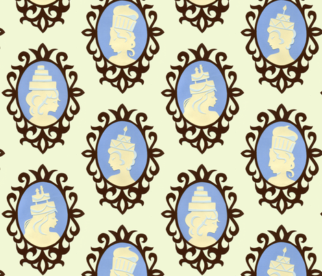Let Them Eat Cake fabric by gershamabob on Spoonflower - custom fabric