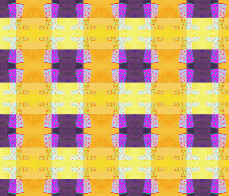 Chinese_Nuances_of_Yellow_dress2__Original_by_Evandecraats_July_10__2012 fabric by _vandecraats on Spoonflower - custom fabric