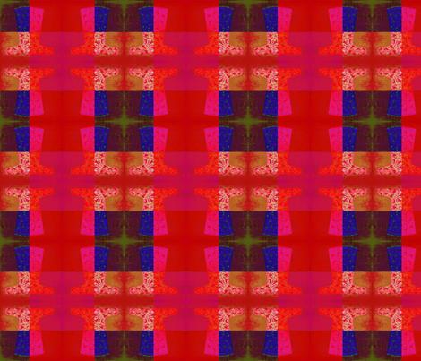 Chinese_Red_Nuances_dress2__Original_by_Evandecraats_July_10__2012 fabric by _vandecraats on Spoonflower - custom fabric