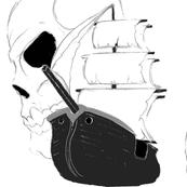 Skull Pirate Ship