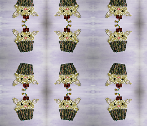 CatCake fabric by toujoursenvogue on Spoonflower - custom fabric