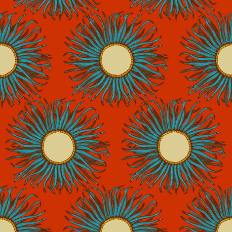 Creature Power fabric by brainsarepretty on Spoonflower - custom fabric