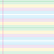 Candy stripe paper