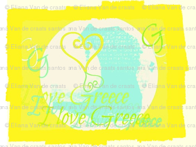 I love Greece by evandecraats march 25, 2012 Light Yellow
