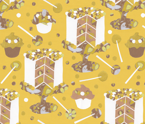 Buttercream Dream fabric by karistyle on Spoonflower - custom fabric