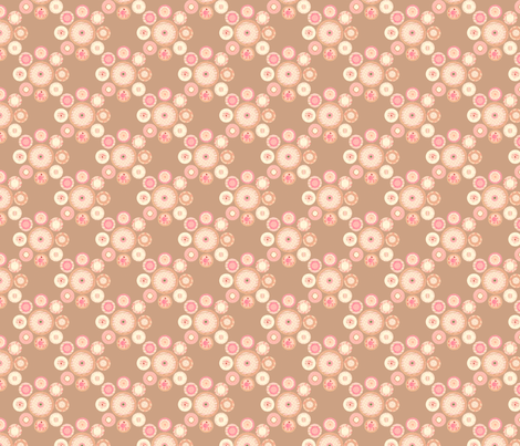 cakeflouwer fabric by golden_tangerine on Spoonflower - custom fabric
