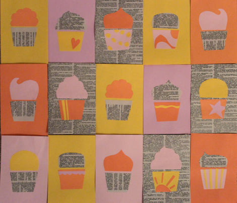 cupcakery fabric by pintuckprovisions on Spoonflower - custom fabric