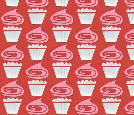 cupcake swirl fabric by ottomanbrim on Spoonflower - custom fabric