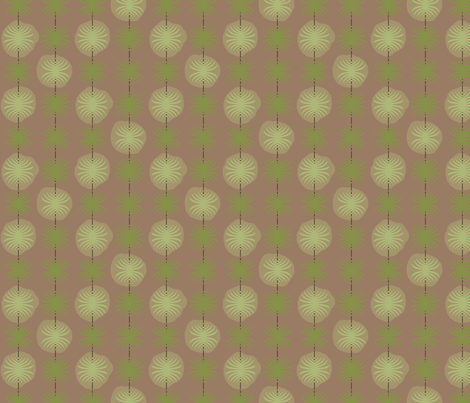 Posser (Cactus) fabric by david_kent_collections on Spoonflower - custom fabric