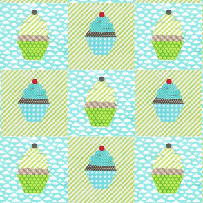 cake collage cupcake checks