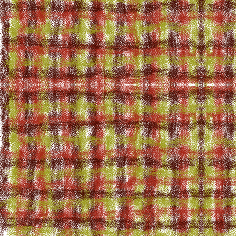 vegeplaid fabric by sherenanz on Spoonflower - custom fabric
