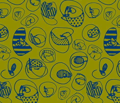 Dots fabric by katebutler on Spoonflower - custom fabric