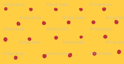 Yellow and Red Circle Dots
