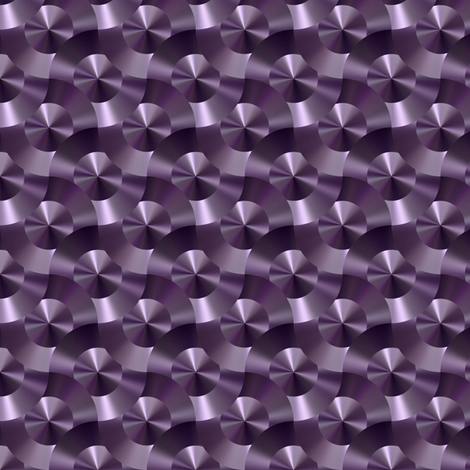 Purple Mail Chain That Is fabric by feebeedee on Spoonflower - custom fabric