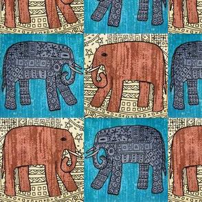 Elephants x 4