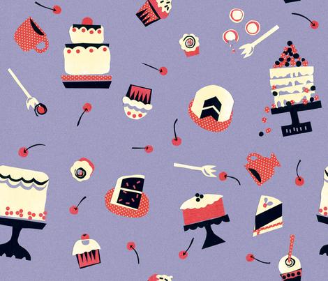MyCherieCakes fabric by jtterwelp on Spoonflower - custom fabric
