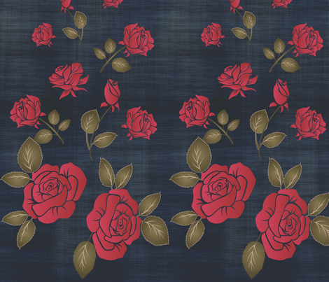 Roses fabric by leeandallandesign on Spoonflower - custom fabric