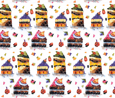 Fancy Non-fancy Slices fabric by ravenous on Spoonflower - custom fabric