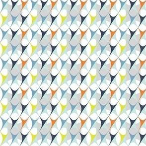 Nell blue/grey/orange