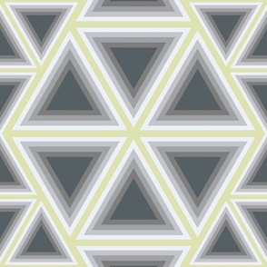 Triangel grey/yellow