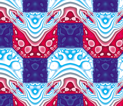 Fractal Mirror 11 fabric by animotaxis on Spoonflower - custom fabric