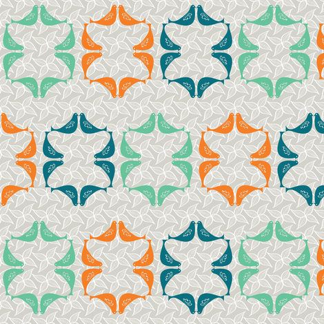 Doves fabric by sary on Spoonflower - custom fabric