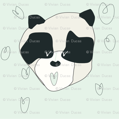 vivi panda face
