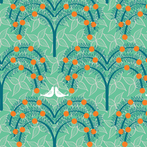 tree7 fabric by sary on Spoonflower - custom fabric