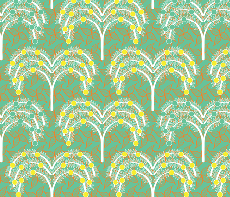 Orchard 2 fabric by sary on Spoonflower - custom fabric