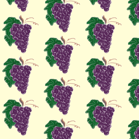 grapes2 fabric by suemc on Spoonflower - custom fabric