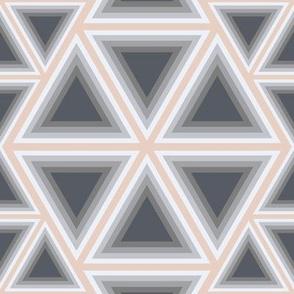 Triangel Grey/orange