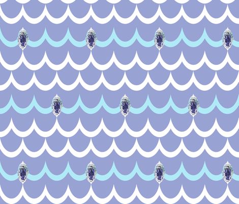 jeweloftheseawaves fabric by tequila_diamonds on Spoonflower - custom fabric