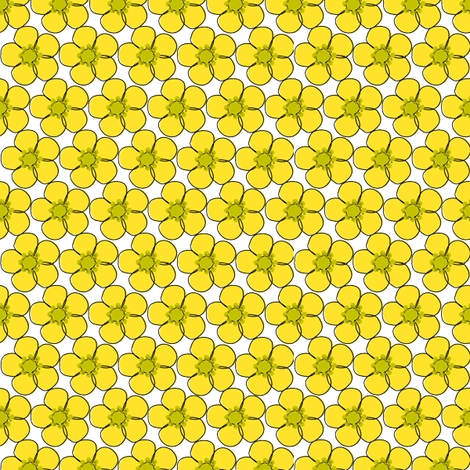 buttercupglass fabric by bussybuffu on Spoonflower - custom fabric