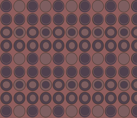 Dark Roast Beans fabric by arttreedesigns on Spoonflower - custom fabric