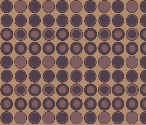 Dark Roast Coffee fabric by arttreedesigns on Spoonflower - custom fabric