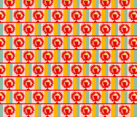 Small Berry+ Wreath fabric by boris_thumbkin on Spoonflower - custom fabric