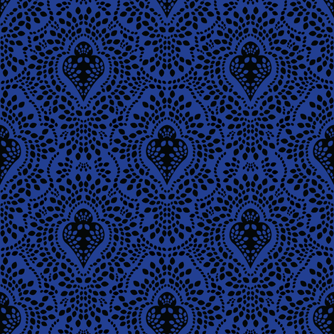 Indigo Ink fabric by robyriker on Spoonflower - custom fabric