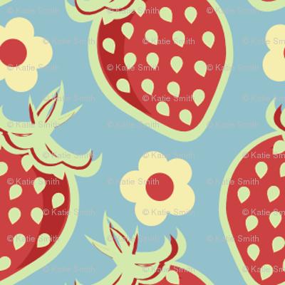 Pastel Country Berries