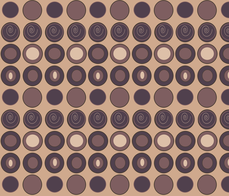 Coffee Beans  fabric by arttreedesigns on Spoonflower - custom fabric