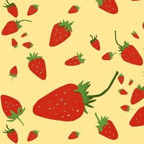 Giant Strawberries