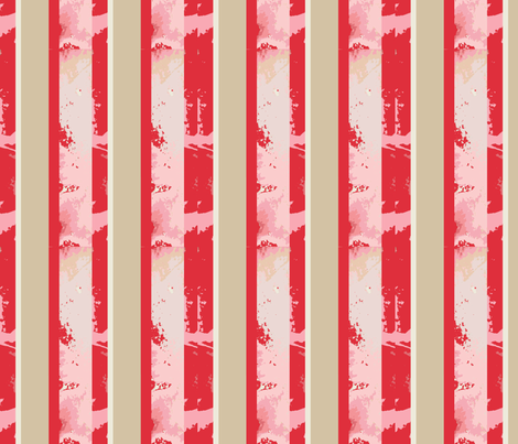 Lily Elephant stripes fabric by karenharveycox on Spoonflower - custom fabric